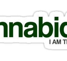 CANNABIDIOL (I AM THERAPEUTIC) Sticker