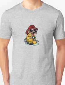 Firefighter cartoon dog2. T-Shirt