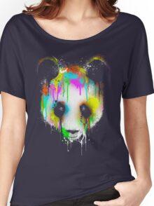 Technicolor Panda Women's Relaxed Fit T-Shirt