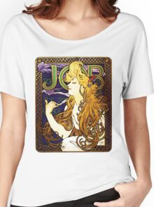 'Job' cigarette paper  Women's Relaxed Fit T-Shirt