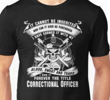 correctional officer mom correctional officer Correctional Officer T S Unisex T-Shirt