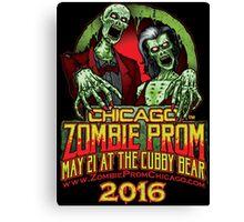Zombie Prom Chicago 2016 Canvas Print