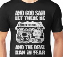 correctional officer Correctional Officers Wife correctional officer d Unisex T-Shirt