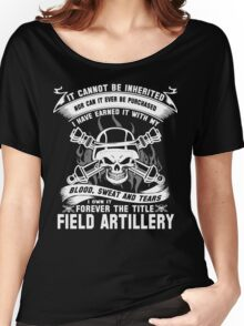 field artillery field artillery major  field artillery mom Armed Force Women's Relaxed Fit T-Shirt