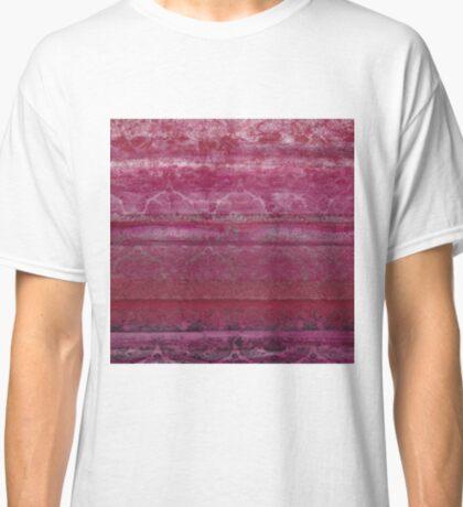Textural Pink Classic T-Shirt