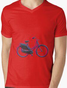 Dutch Bike Mens V-Neck T-Shirt