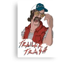 Trailer trash Canvas Print
