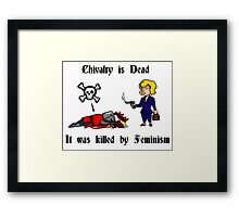 Chivalry's Death Framed Print