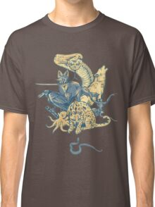 Metal Gear - Animals Characters Classic T-Shirt