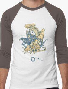 Metal Gear - Animals Characters Men's Baseball ¾ T-Shirt