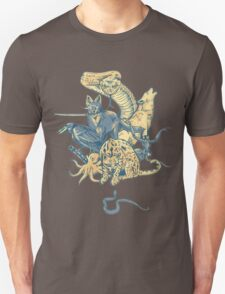 Metal Gear - Animals Characters T-Shirt