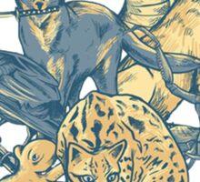 Metal Gear - Animals Characters Sticker