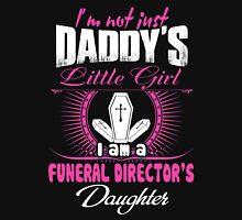 Badass Job funeral director Death funeral director license plate  Unde Unisex T-Shirt