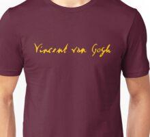 Vincent Van Gogh - Signature Unisex T-Shirt