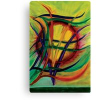Evolve - oil painting by YouS Canvas Print