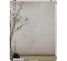 Contemporary flower seed in glass jar iPad Case/Skin