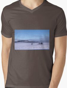 Winter Mens V-Neck T-Shirt
