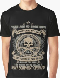 Cold  heavy equipment operator Tower heavy equipment operator Heavy Eq Graphic T-Shirt