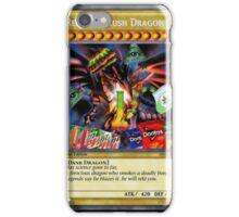 Red Eyes Kush Dragon  iPhone Case/Skin