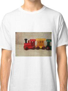 A little Wooden Train Classic T-Shirt