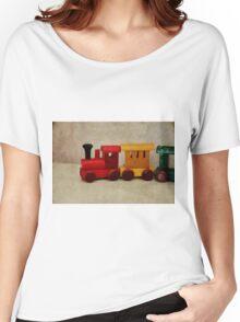 A little Wooden Train Women's Relaxed Fit T-Shirt