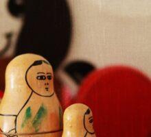 Vintage wooden toys Sticker