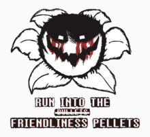 "Run Into The ""Friendliness Pellets"" Kids Tee"