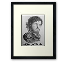 Athos season 2 Framed Print