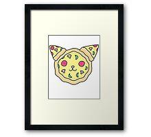 Pizza cat Framed Print