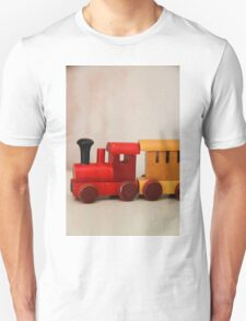 A cute little wooden train T-Shirt
