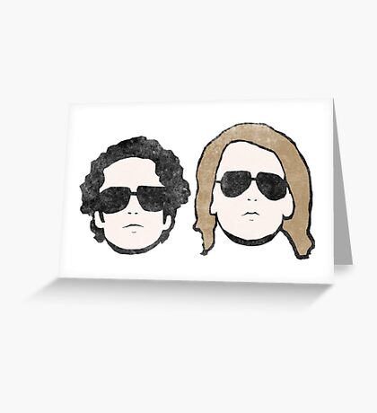 Ylvis - Worn out Bigger Version Greeting Card