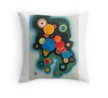 Wassily Kandinsky  VERTIEFTE REGUNG (DEEPENED IMPULSE) Throw Pillow