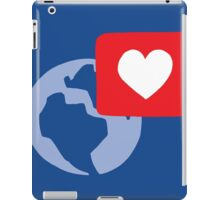Love notification iPad Case/Skin