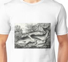 American game fish - Currier & Ives - 1866 Unisex T-Shirt