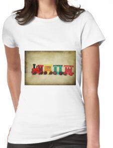 Little choo choo train Womens Fitted T-Shirt
