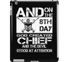 Airplane navy chief navy pride Us Navy navy chief dad navy chief wife  iPad Case/Skin
