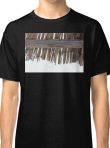 The reed roof made of grass Classic T-Shirt