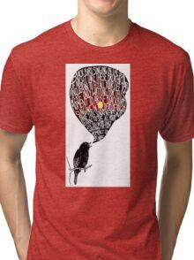 The Beatles Blackbird Tri-blend T-Shirt
