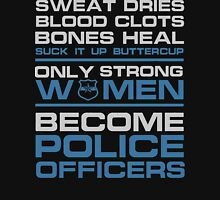 police officer boyfriend police officer k9 police officer wife police  Unisex T-Shirt