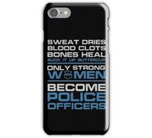 police officer boyfriend police officer k9 police officer wife police  iPhone Case/Skin