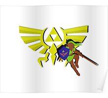 The Legend of Zelda: Hero of Triforce Poster