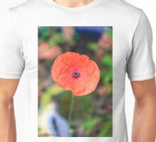 Paper-like Poppy Unisex T-Shirt