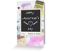 Partner in Crime - Card Greeting Card