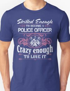 Occupation police officer blue line police officer ninja police office Unisex T-Shirt