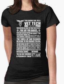 Vet Tech T Shirt vet tech sweatshirts vet tech travel mugs vet tech hu T-Shirt