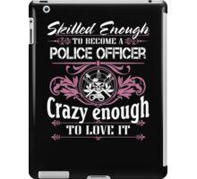 Occupation police officer blue line police officer ninja police office iPad Case/Skin