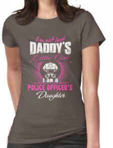 police officer onesies police officer dad Professional police officer  Womens Fitted T-Shirt