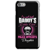 police officer onesies police officer dad Professional police officer  iPhone Case/Skin