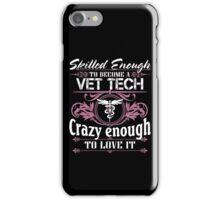 vet tech christmas vet tech bite me vet tech gifts Veterinary T Shirts iPhone Case/Skin