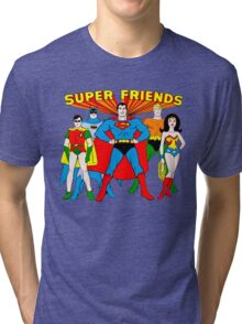Super Friends Hero Tri-blend T-Shirt